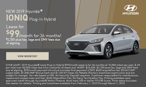 NEW 2019 Hyundai® Ioniq Plug-In Hybrid