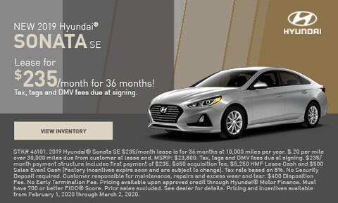 NEW 2019 Hyundai® Sonata SE
