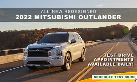 All-New Redesigned 2022 Mitsubishi Outlander
