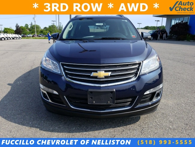 Used 2016 Chevrolet Traverse For Sale at Fuccillo Ford of