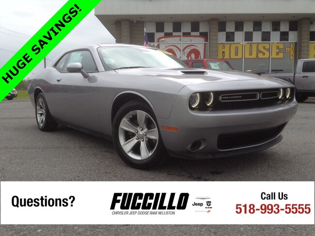 Used 2018 Dodge Challenger For Sale at Fuccillo Ford of