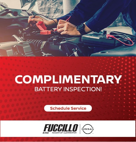 Complimentary Battery Inspection!