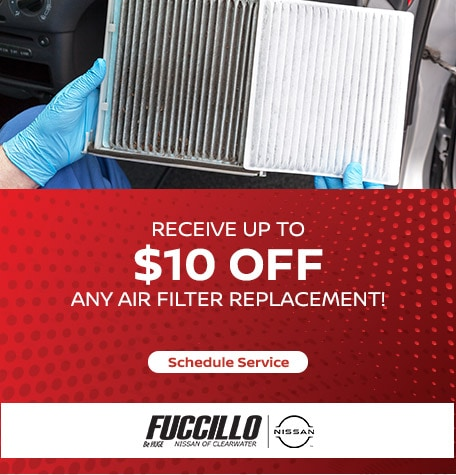 Receive up to $10 Off Any Air Filter!