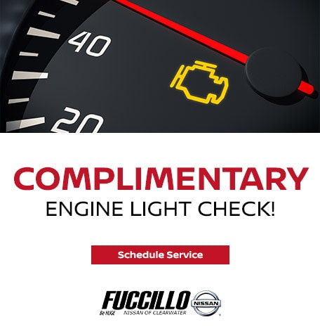 COMPLIMENTARY Engine Light Check!