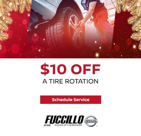 Receive $10.00 OFF a Tire Rotation! Buy for only $9.95 plus tax!