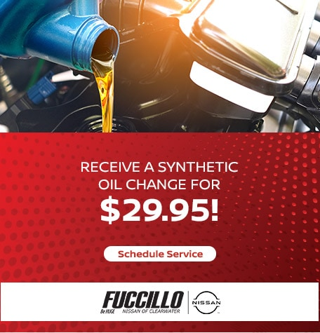 Receive a Synthetic Oil Change for $29.95!