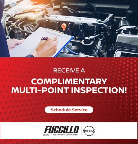 Receive a complimentary multi-point inspection!