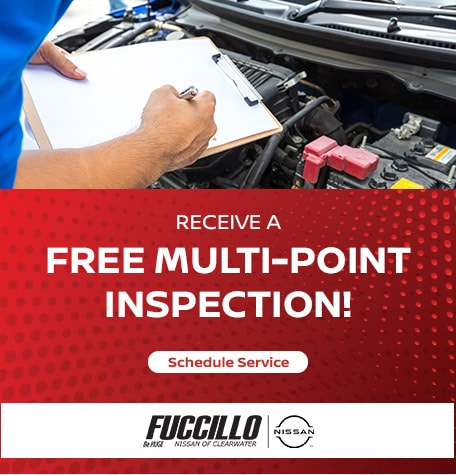 Complimentary Multi-Point Inspection!