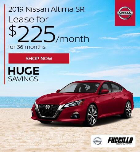 July 2019 Nissan Altima SR