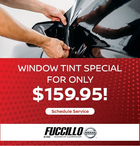 Window Tint Special for only $159.95!