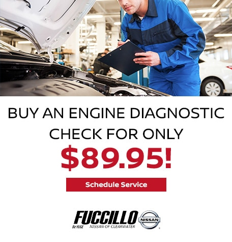 Buy an Engine Diagnostic Check for only $89.95!