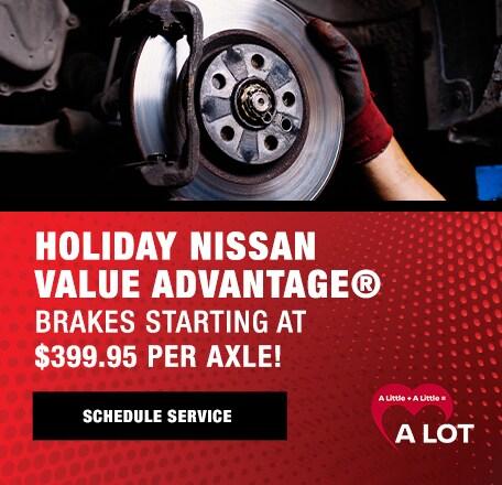 Holiday Nissan VALUE ADVANTAGE®