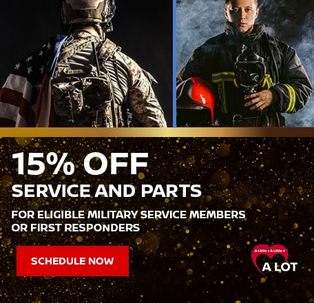 15% Off Service and Parts