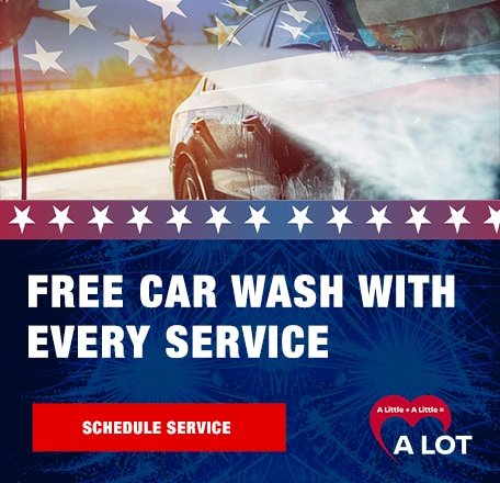 COMPLIMENTARY Car Wash With Every Service!