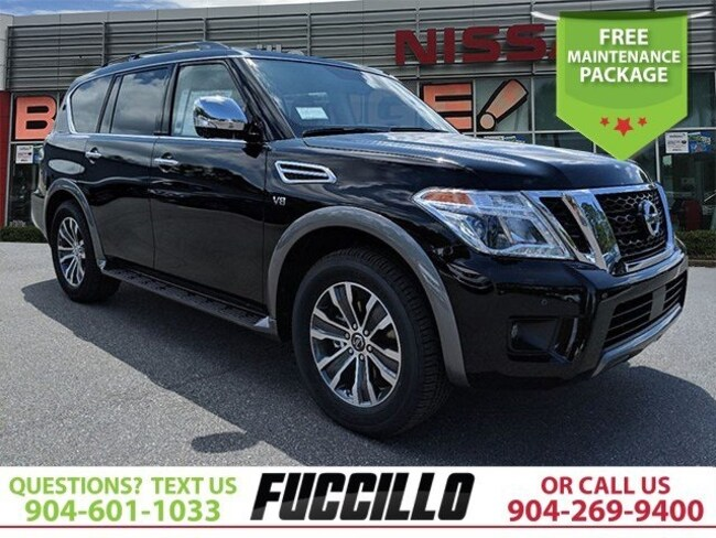 New 2019 Nissan Armada For Sale At Fuccillo Nissan Of Orange Park