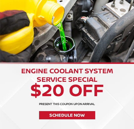 Engine Coolant System Service SPECIAL