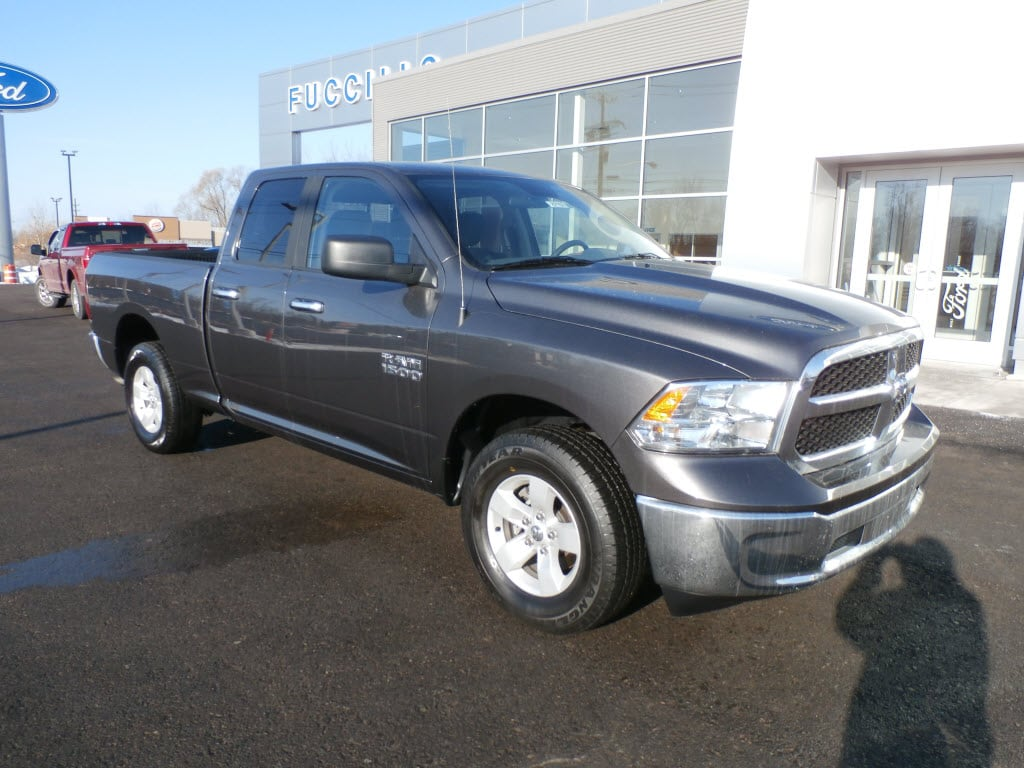 2018 Ram 1500 SLT 4x4 SLT  Quad Cab 6.3 ft. SB Pickup