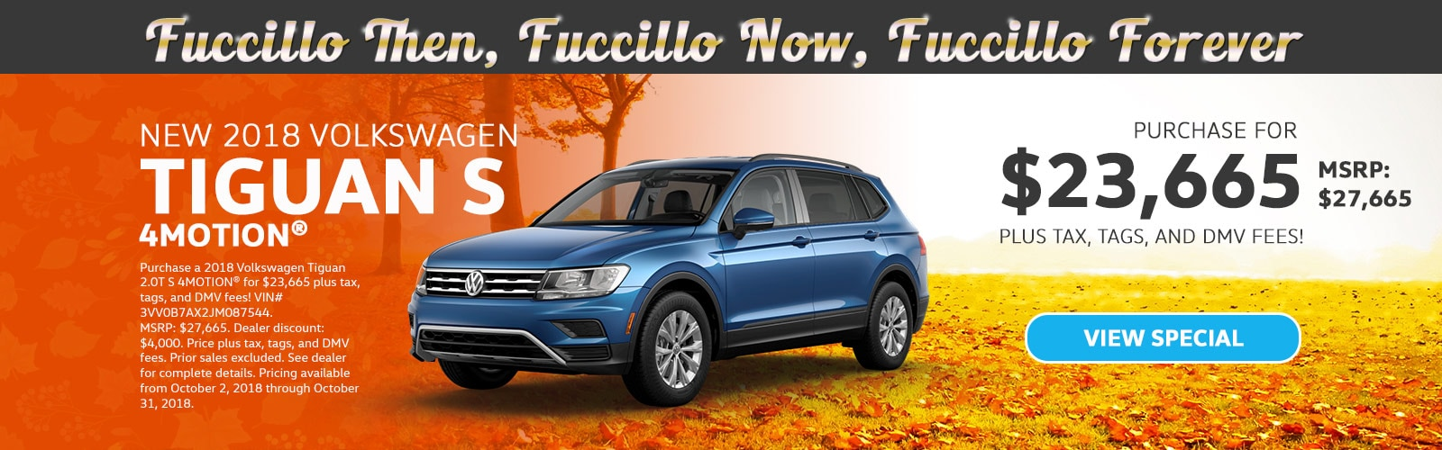 Welcome To Fuccillo Volkswagen Of Schenectady, NY