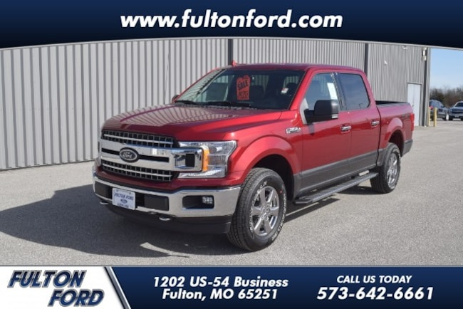 2018 Ford F-150 4WD XLT Supercrew Truck