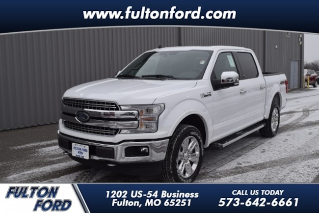 2019 Ford F-150 4WD Lariat Supercrew Truck