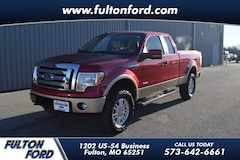 2012 Ford F-150 4WD Lariat Supercab Truck