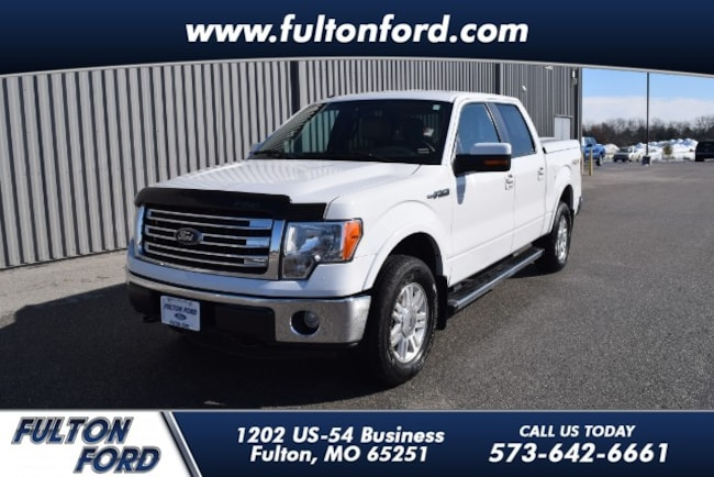 2013 Ford F-150 Lariat Crew Cab Short Bed Truck