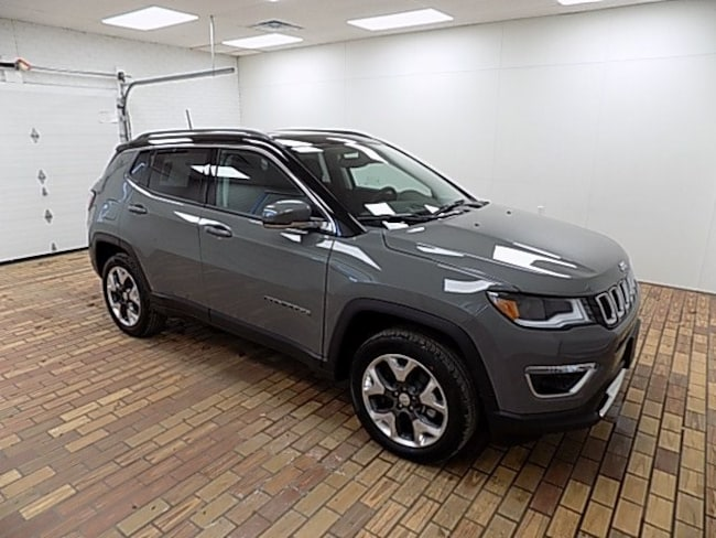 New 2019 Jeep Compass LIMITED 4X4 Sport Utility in Malvern, OH