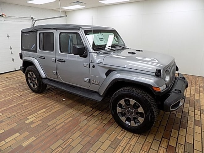 New 2018 Jeep Wrangler UNLIMITED SAHARA 4X4 Sport Utility in Malvern, OH