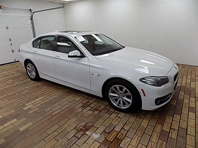 Used 2016 BMW 5 Series 528i Xdrive Sedan Malvern, OH