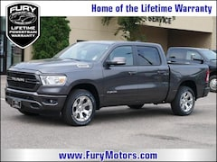New Chrysler Dodge Jeep RAM Models 2019 Ram 1500 BIG HORN / LONE STAR CREW CAB 4X4 5'7 BOX Crew Cab 1C6SRFFTXKN566182 for sale in South St Paul, MN