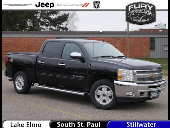 Used 2012 Chevrolet Silverado 1500 4WD Crew Cab 143.5 LT Truck in St. Paul, MN