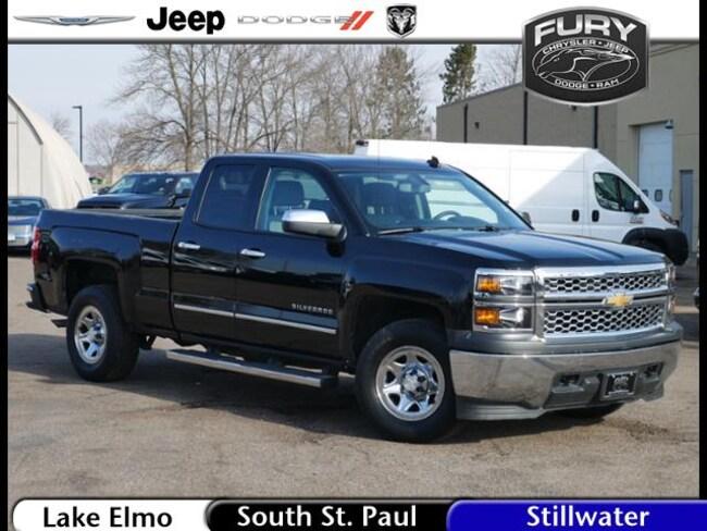 Used 2014 Chevrolet Silverado 1500 4WD Double Cab 143.5 Work  w/2WT Truck in St. Paul, MN