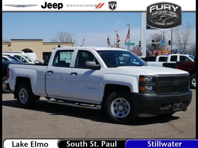 Used 2014 Chevrolet Silverado 1500 4WD Crew Cab 143.5 Work  w/1WT Truck in St. Paul, MN
