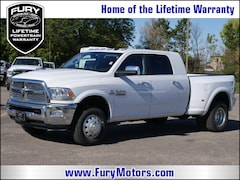 New Chrysler Dodge Jeep RAM Models 2018 Ram 3500 LARAMIE MEGA CAB 4X4 6'4 BOX Mega Cab 3C63RRML3JG334961 for sale in South St Paul, MN