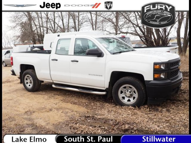 Used 2014 Chevrolet Silverado 1500 4WD Double Cab 143.5 Work Truck in St. Paul, MN