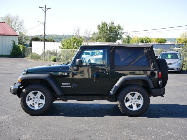 Used 2012 Jeep Wrangler Sport with VIN 1C4AJWAG8CL187989 for sale in South Saint Paul, Minnesota