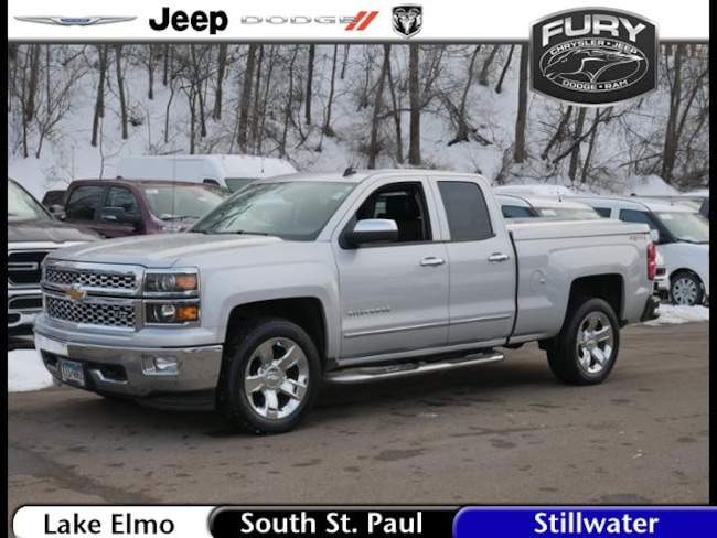 Used 2014 Chevrolet Silverado 1500 4WD Double Cab 143.5 LTZ w/1LZ 5.3L 8cyl Truck in St. Paul, MN
