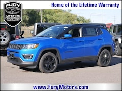 New Chrysler Dodge Jeep RAM Models 2019 Jeep Compass ALTITUDE 4X4 Sport Utility 3C4NJDBB3KT621277 for sale in South St Paul, MN