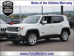 New Chrysler Dodge Jeep RAM Models 2018 Jeep Renegade LATITUDE 4X4 Sport Utility ZACCJBBB7JPJ07351 for sale in South St Paul, MN