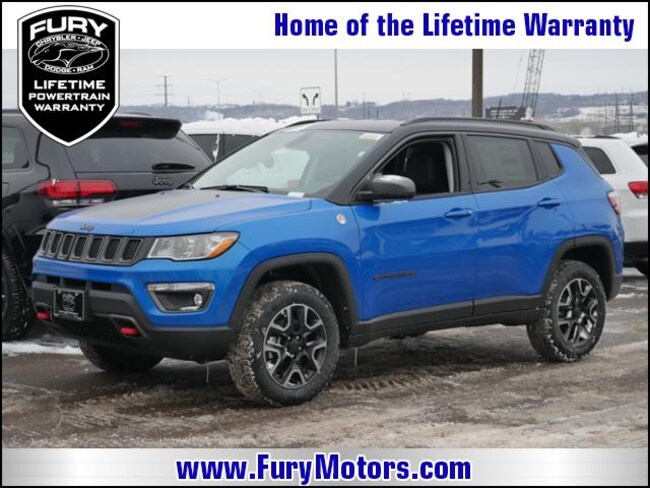 New 2019 Jeep Compass TRAILHAWK 4X4 Sport Utility For Sale/Lease St. Paul, MN