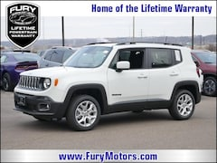 New Chrysler Dodge Jeep RAM Models 2018 Jeep Renegade LATITUDE 4X4 Sport Utility ZACCJBBB6JPJ33701 for sale in South St Paul, MN