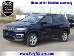 New Chrysler Dodge Jeep RAM Models 2019 Jeep Compass LATITUDE 4X4 Sport Utility 3C4NJDBB7KT629107 for sale in South St Paul, MN