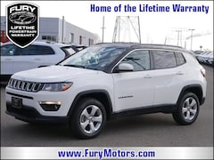 New Chrysler Dodge Jeep RAM Models 2019 Jeep Compass LATITUDE 4X4 Sport Utility 3C4NJDBB7KT629110 for sale in South St Paul, MN