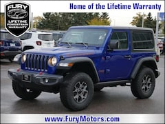 New Chrysler Dodge Jeep RAM Models 2018 Jeep Wrangler RUBICON 4X4 Sport Utility 1C4HJXCN8JW189382 for sale in South St Paul, MN