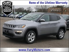 New Chrysler Dodge Jeep RAM Models 2019 Jeep Compass LATITUDE 4X4 Sport Utility 3C4NJDBBXKT629103 for sale in South St Paul, MN