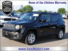 New Chrysler Dodge Jeep RAM Models 2018 Jeep Renegade LATITUDE 4X4 Sport Utility ZACCJBBB7JPJ07236 for sale in South St Paul, MN