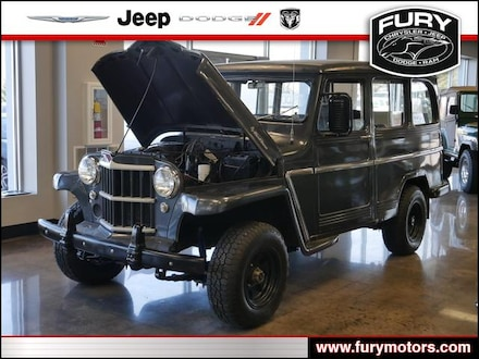 Featured Used 1962 Jeep Willys for Sale near Lake Elmo