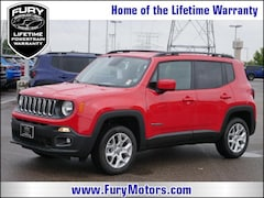 New Chrysler Dodge Jeep RAM Models 2018 Jeep Renegade LATITUDE 4X4 Sport Utility ZACCJBBB2JPJ09069 for sale in South St Paul, MN