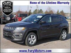New Chrysler Dodge Jeep RAM Models 2019 Jeep Compass LATITUDE 4X4 Sport Utility 3C4NJDBB5KT629106 for sale in South St Paul, MN