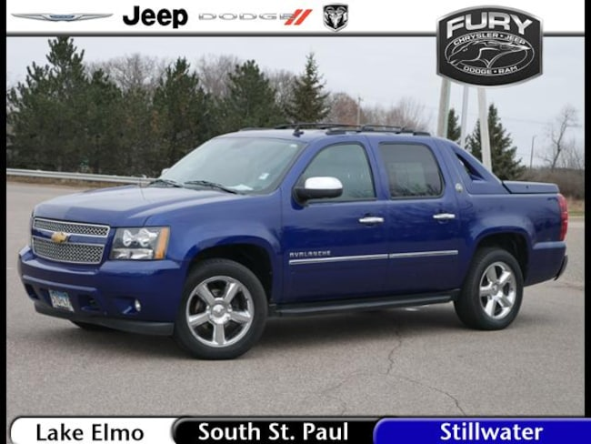 Used 2013 Chevrolet Avalanche LTZ Black Diamond Truck Crew Cab in St. Paul, MN